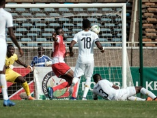 Kenya shocked Ghana thanks to a first-half own goal. AFP