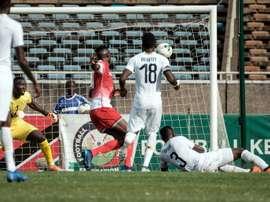 Kenya shocked Ghana thanks to a first-half own goal. AFP