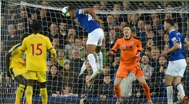 Everton scored two quick-fire goals to kill off Crystal Palace. EVERTON/TWITTER