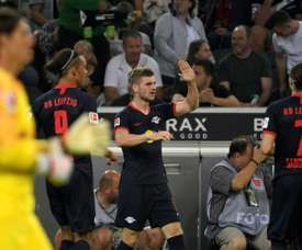 Man Utd are thinking of signing Timo Werner in January. AFP