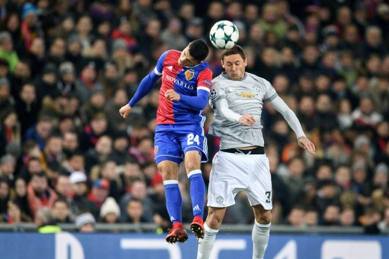 Mohamed Elyounoussi played in the Champions League for Basel. AFP