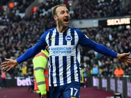 Brighton Glenn Murray does not understand rush to return to action. AFP