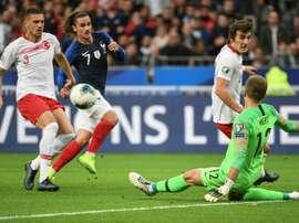 Ayhan equaliser forces France to wait for Euro 2020 spot. AFP