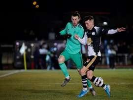 Bale a dépassé Ronaldo avant de se blesser. AFP