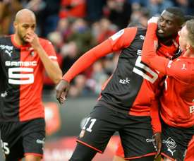 Rennes won 2-1. AFP