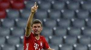 Bundesliga clubs will have start the new season behind closed doors. AFP