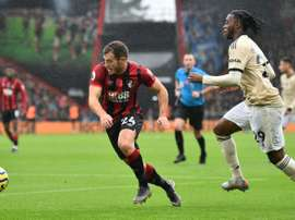 Fraser will not stay at Bournemouth. AFP