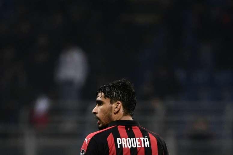 Nem reserva: Paquetá perdeu espaço no Milan até em decisão de vida ou morte. AFP
