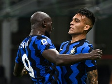 Inter stay second ahead of Atalanta in Serie A final push. AFP