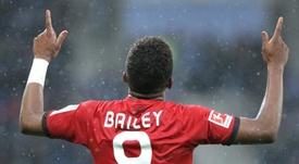 Leon Bailey vers la Premier League. AFP