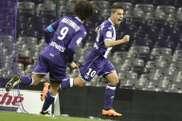 Ben Yedder fue el último en anotar un gol al Saint Etienne con el Toulouse. AFP