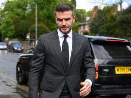 Beckham co-owns Salford, who will play in League 2 next season. AFP