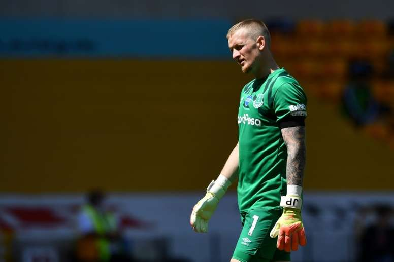 Southall has backed Pickford. AFP
