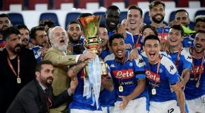 Naples et le FC Barcelone se retrouveront en août. AFP