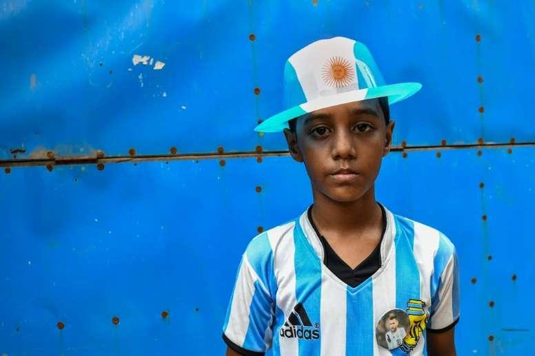 World Cup fever has hit Bangladesh. AFP