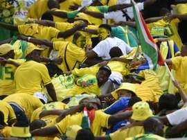 Mamelodi Sundowns won their last Premiership match of the calendar year. AFP