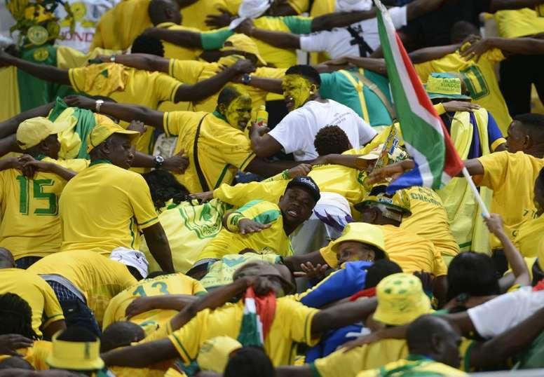 Mamelodi Sundowns won their last Premiership match of the calendar year. AFP