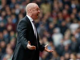 Sean Dyche has seen offers for two players rejected. AFP