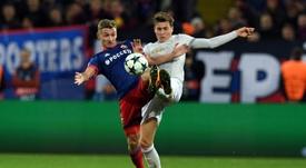 Lindelöf n'a pas fait un bon match face à Tottenham. AFP