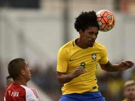 Douglas Luiz foi emprestado ao Girona pelo Manchester City. AFP