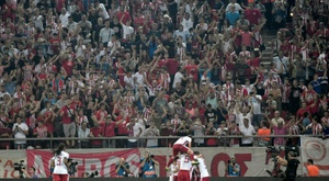 Tottenham held by Olympiakos after blowing two-goal lead. AFP