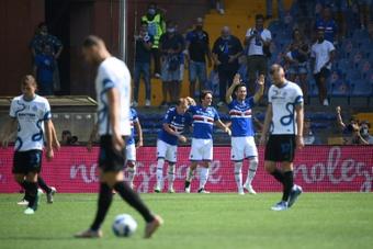 El Inter se dejó sus primeros puntos de la temporada. AFP