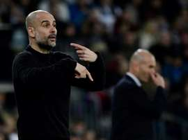 Roles reversed as Guardiola seeks to follow trail blazed by Zidane. AFP