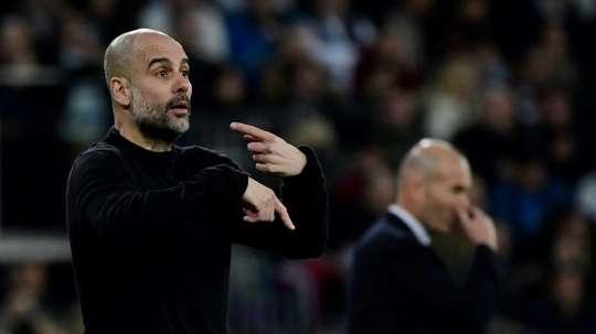 Roles reversed as Guardiola seeks to follow trail blazed by Zidane. AFP