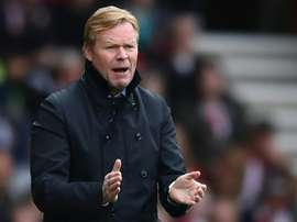 Koeman decided to leave Niasse out Everton's Europa League squad at the start of the season. AFP