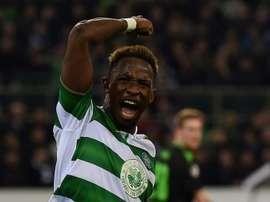 Dembélé volvió a ser decisivo para el Celtic. AFP