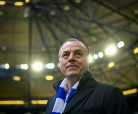 The Schalke chairman is under pressure to resign over racist comments he made last week. AFP