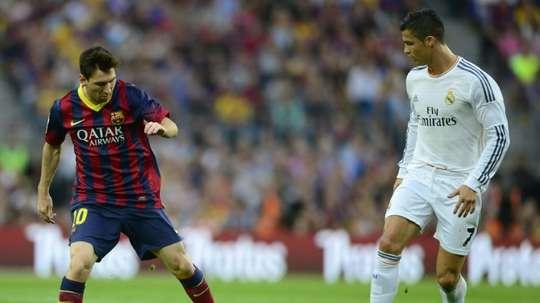Cristiano et Messi auraient pu passer par Bastia et Cádiz. AFP