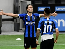 Late strike forces Inter Milan to share points. AFP
