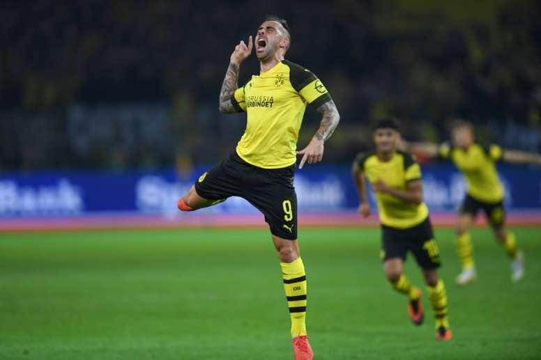 Paco Alcacer signed for Dortmund this summer from Barcelona