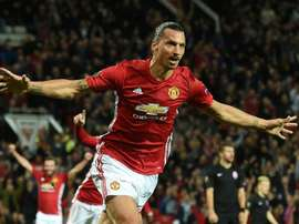 Manchester United won their first major trophy under Jose Mourinho thanks to Zlatan Ibrahimovic. AFP