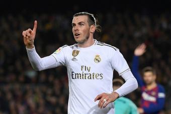 Gareth Bale não hesitou em elogiar Ancelotti. AFP