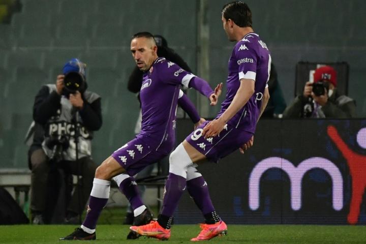 Ribéry podría ser oficial pronto en la Salernitana. AFP