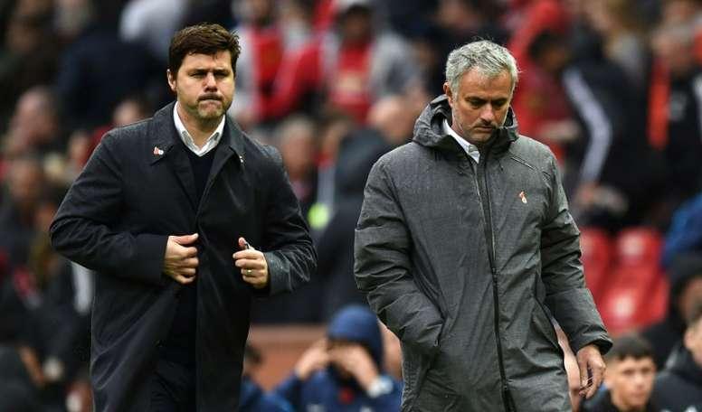 Pochettino está feliz por Mourinho. AFP