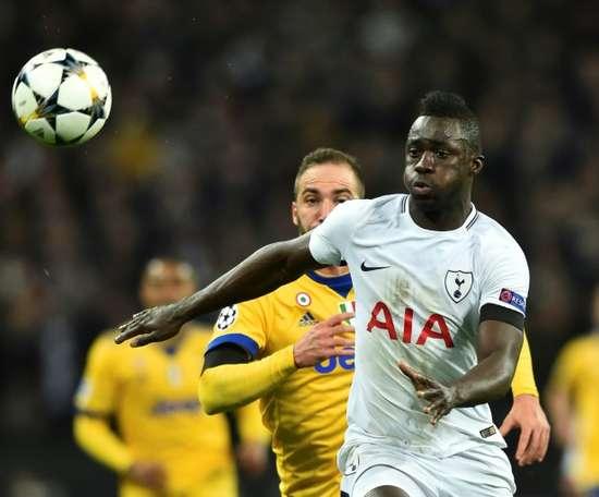 Davinson Sanchez, a success story in elite football. AFP
