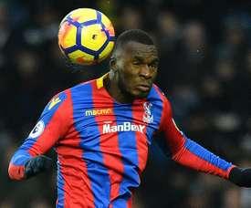 Crystal Palace veut se séparer de Benteke. AFP
