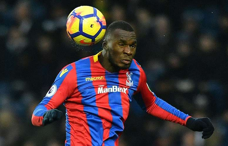 Benteke has been put up for sale by Crystal Palace. AFP