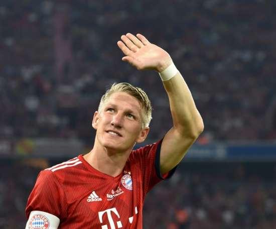 Schweinsteiger will stay in the MLS. AFP