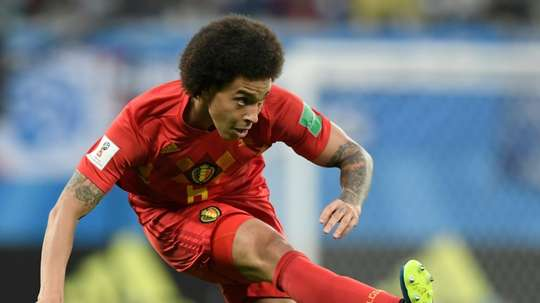 Witsel joined Dortmund after leaving Tianjin Quanjian. AFP