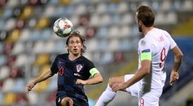 Modric a reconnu sa petite forme. AFP