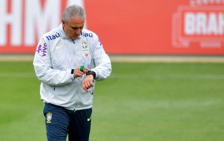 Tite dismisses rumors he's set to quit Brazil