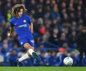 Ampadu will be at Leipzig for the whole of next season. AFP