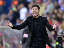 Simeone prépare la saison prochaine. AFP