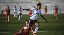 Geyse Ferreira volverá a jugar en España. AFP
