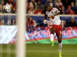 Wright-Phillips marcó el 1-0 para los New York Red Bulls. AFP