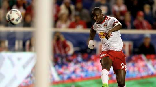 Bradley Wright-Phillips has set a new goalscoring record in the MLS. AFP